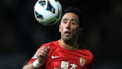 Lucas Barrios irá al fútbol francés.