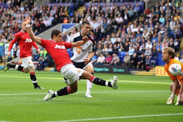 El equipo de Alex Ferguson se puso en ventaja a los 4 minutos del primer...