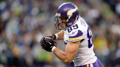 John Carlson no seguirá en los Vikings (AP-NFL).