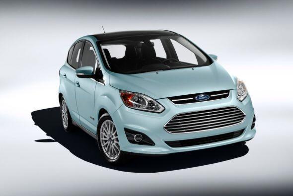 Ford C-Max Hybrid 2015- La nueva generación, que está desarrollada sobre...