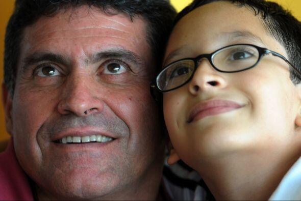 Imagen familiar del actual entrenador del seleccionado hondureño, el col...