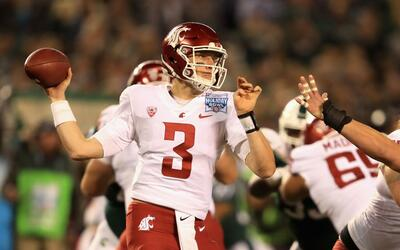 Tyler Hilinski, quarterback de de Washington State University.