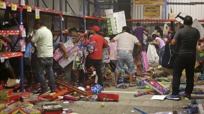 Reportan unas 250 tiendas saqueadas en México luego de protestas por 'el...
