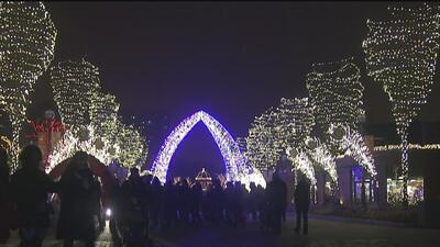 Un increíble festival gratuito de luces iluminará a Chicago durante esta Navidad