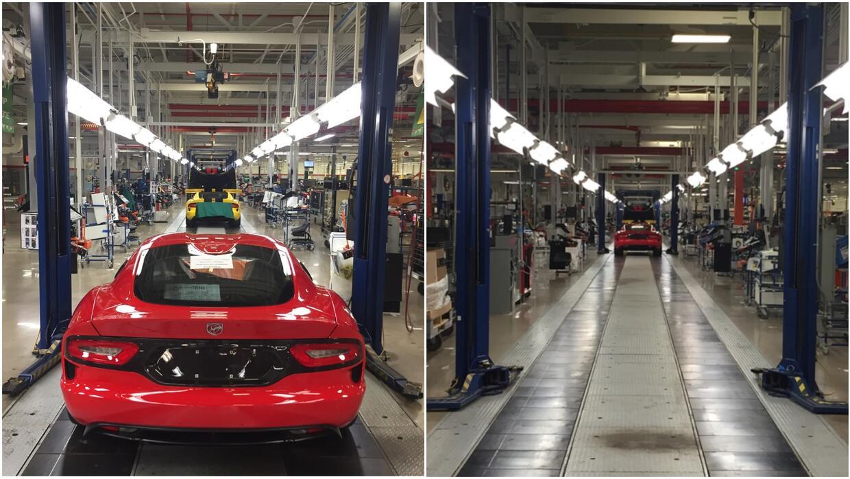 El último Dodge Viper sale de la línea de montaje.