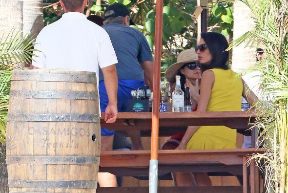 George Clooney Amal Alamuddin siguen disfrutando de México.