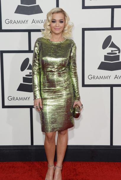 Tenemos que reconocer que Rita Ora ha mejorado mucho su estilo. Sensual...