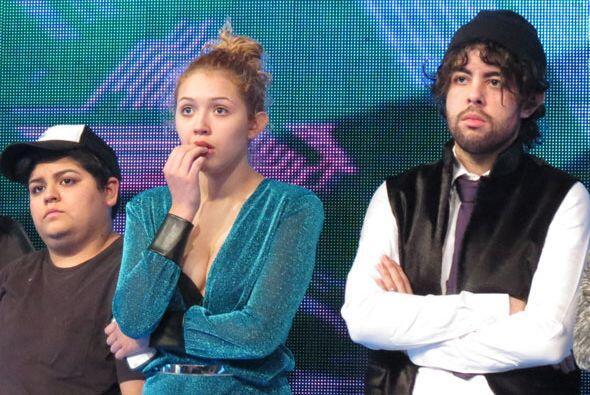 También Stephanie, Paloma y Raúl.