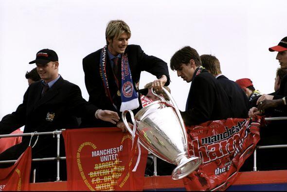 También conquistó la Liga de Campeones en 1999, en una final que los ing...