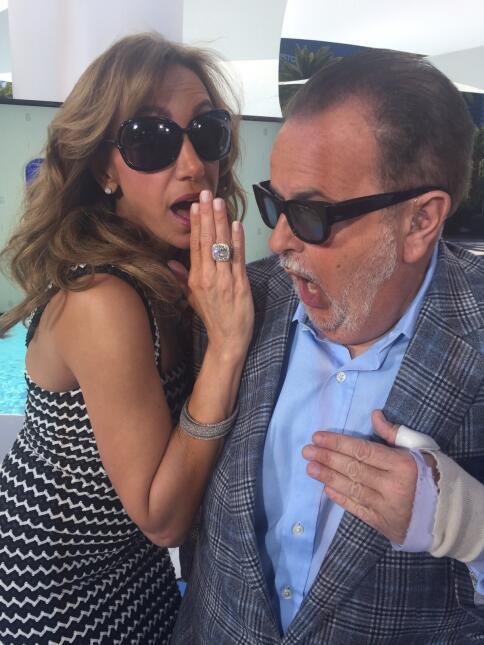 Después de la fiesta del Latin Grammy, Raúl y Lili hicieron un programa...
