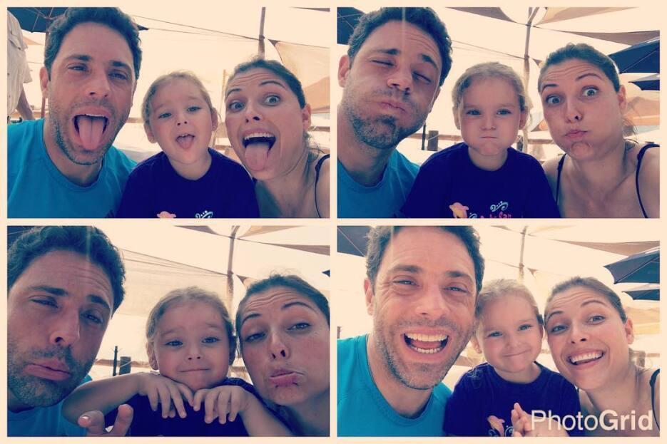 Camila, la hija del actor Héctor Arredondo.