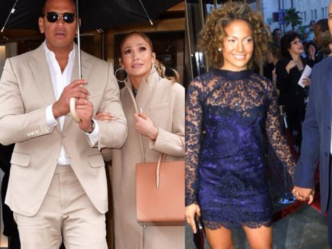 Jennifer López se ha vestido igual que sus parejas más de...