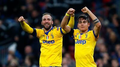 En fotos: Juventus pasó a cuartos tras remontar 1-2 contra Tottenham en Inglaterra