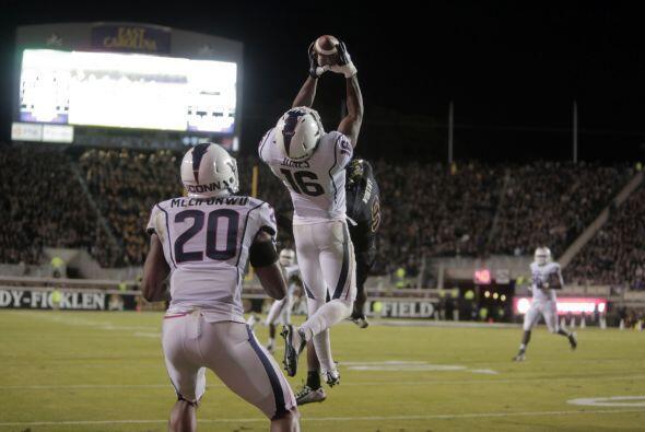 Selección 32 New England Patriots: CB Byron Jones, Connecticut (AP-NFL).