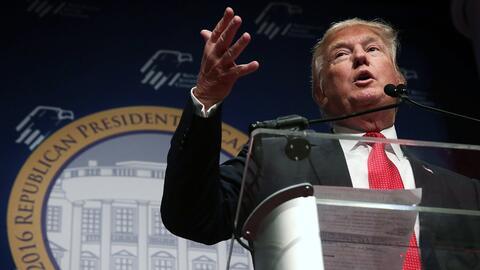 """Casa Blanca cree que comentarios antimusulmanes de Trump lo """"descalifica..."""