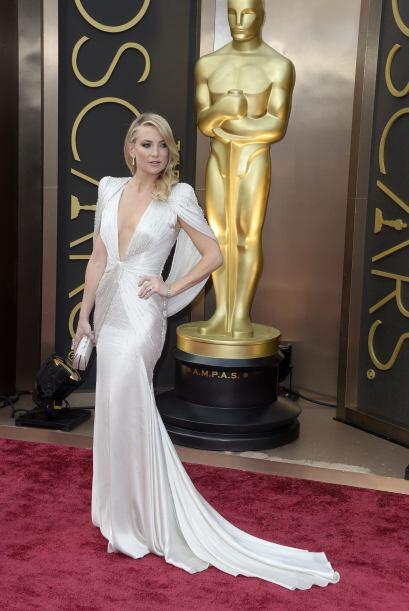 La actriz Kate Hudson llega a la 86 ª ceremonia anual de premios de la A...