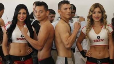 Mijares y Soto en peso (Foto: twitter)