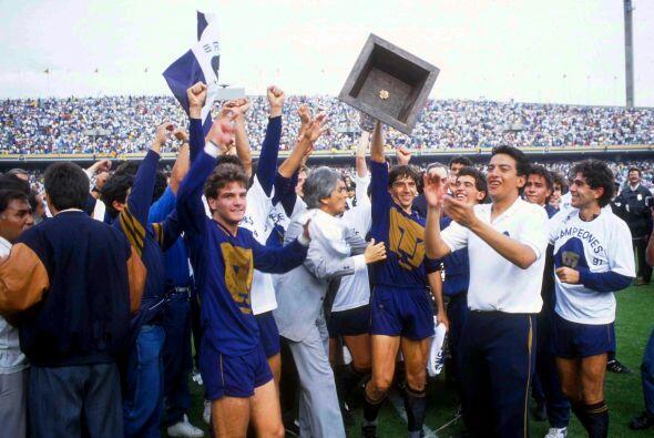 O aquella final de la temporada 1990-91 en la que Pumas logró el título...