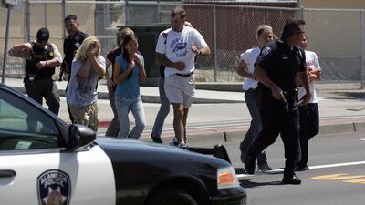 El duro efecto de los simulacros de tiroteos en los niños
