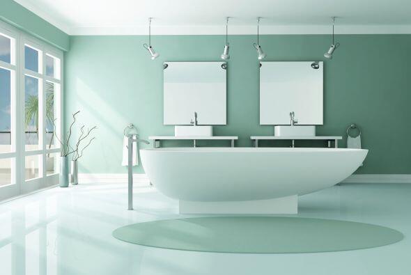 Verde fresco. Opta por un color claro súper refrescante, como la menta....
