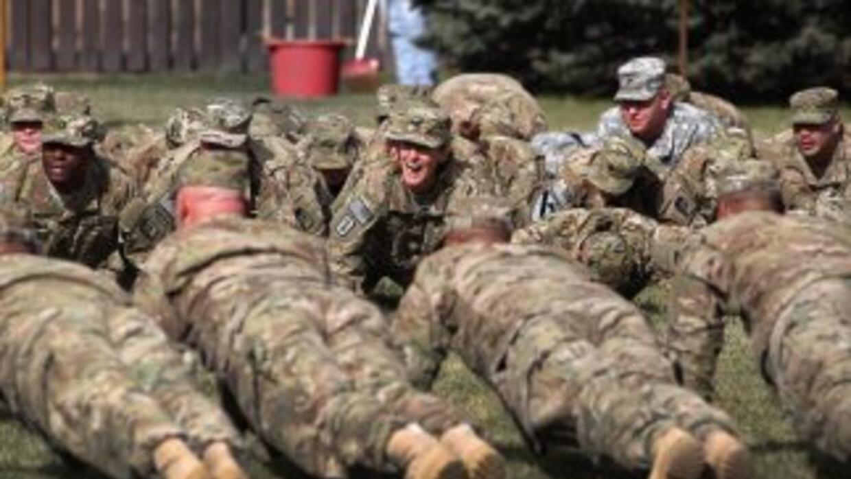 Entrenamiento militar en EEUU