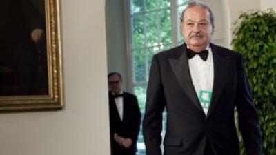 Carlos Slim es el hombre más rico del mundo, según la revista Forbes.