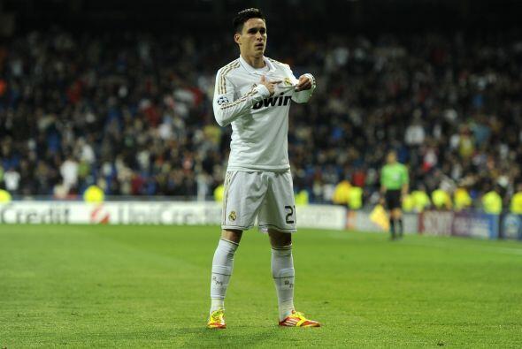 Callejón mostró su cariño por el cuadro blanco.