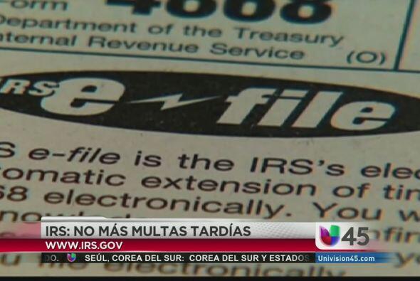Buenas noticias para quienes estén endeudados con el IRS, pues la agenci...