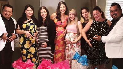 Ana Patricia sorprendió a un grupo de mujeres que (al igual que ella) viven su embarazo lejos de sus familias