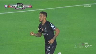 ¡Cerca! Ventura Alvarado buscó el empate, pero le falló la dirección