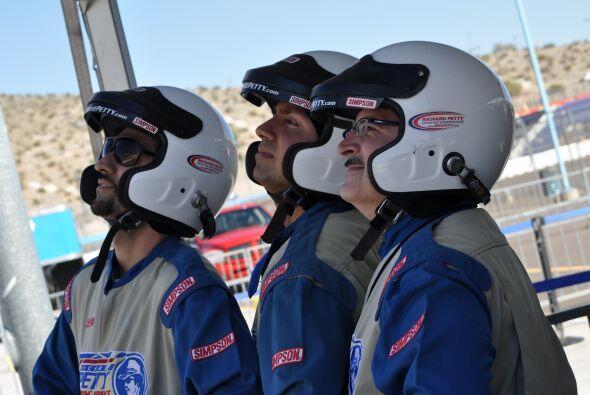 Univision Arizona dio una probadita de lo que vivirán los pilotos...