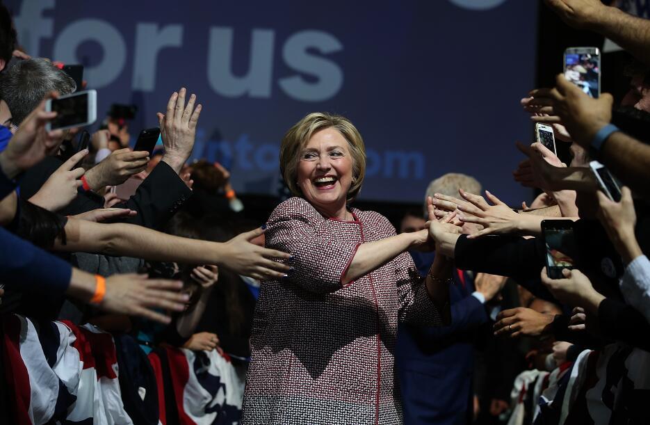 Hillary Clinton gana primarias de Nueva York