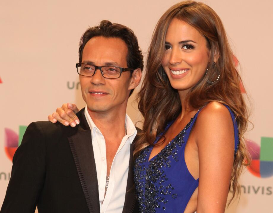 Marc Anthony y sus mujeres en Latin GRAMMY