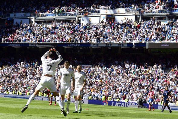 Cristiano Ronaldo, su 'comandante', lideró a los blancos a un triunfo ap...