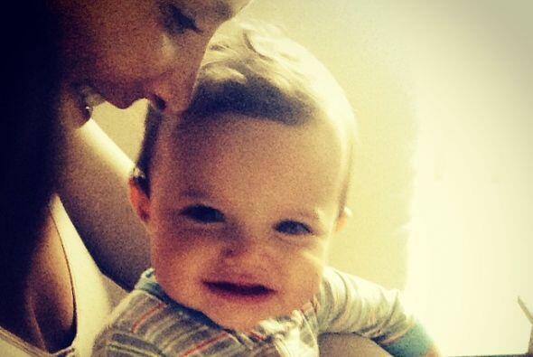 Y aunque no puedo embarazarse, adoptar a la pequeña Luciana fue lo mejor...