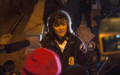 Janee Harteau renunció a su cargo como jefa de Policía de...