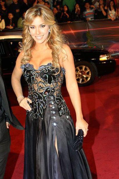 Elizabeth López, una de las finalistas de la primera temporada de Nuestr...