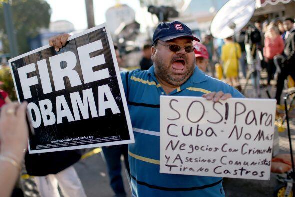 La disidencia cubana recibió con disgusto y moderación la decisión de lo...
