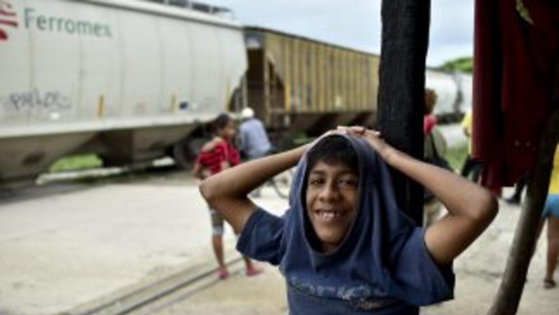 México es paso obligado de los miles de migrantes centroamericanos que c...