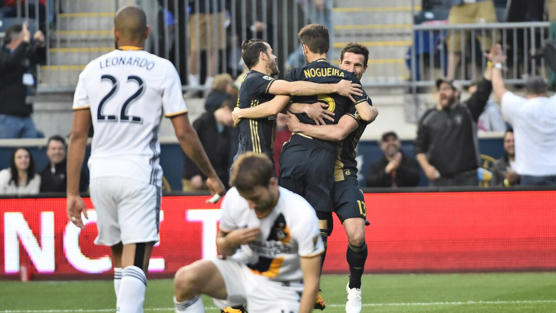 Philadelphia Union rescato igualada 2-2 con LA Galaxy