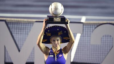 Tsurenko y Mladenovic, una hermosa final en el Abierto Mexicano de Tenis