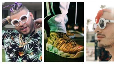 Bling bling y mucho flow: así es la extravagante moda de los reggaetoneros