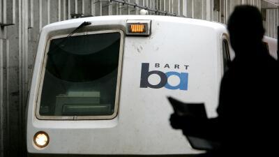 Tren del BART impacta a una persona