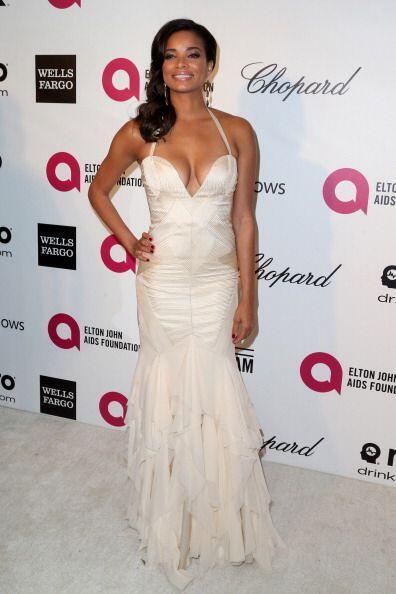 La actriz Rochelle Aytes atiende el 22nd. Annual Elton John AIDS  Founda...