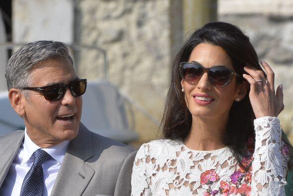 Pues Amal además de ser bella es una mujer muy inteligente.