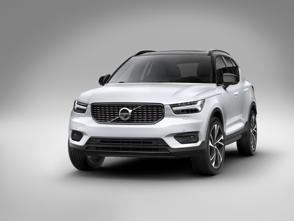 Volvo the-new-volvo-xc40-r-design-crystal-white-w-contrasting-black-roof...
