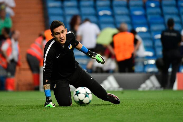 Doxa 0-[8] APOEL: el portero Raúl Gudiño sigue sin sumar minutos signifi...