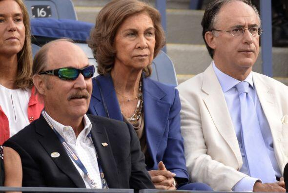 También la mismísima Reina de España fue a apoyar a Nadal.Mira aquí lo ú...