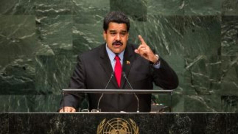 El presidente de Venezuela tomó la palabra la noche del miércoles en la...