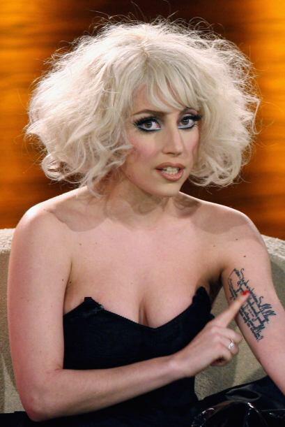 Lady Gaga también fue víctima de las rayas sin sentido que atacaron a lo...